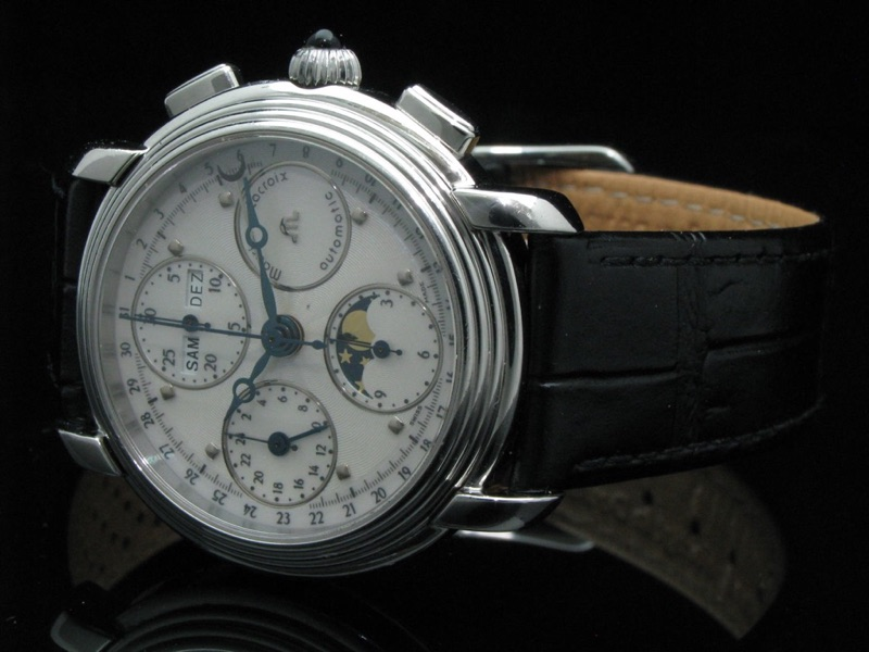 maurice lacroix chronograph automatic ebay. Black Bedroom Furniture Sets. Home Design Ideas