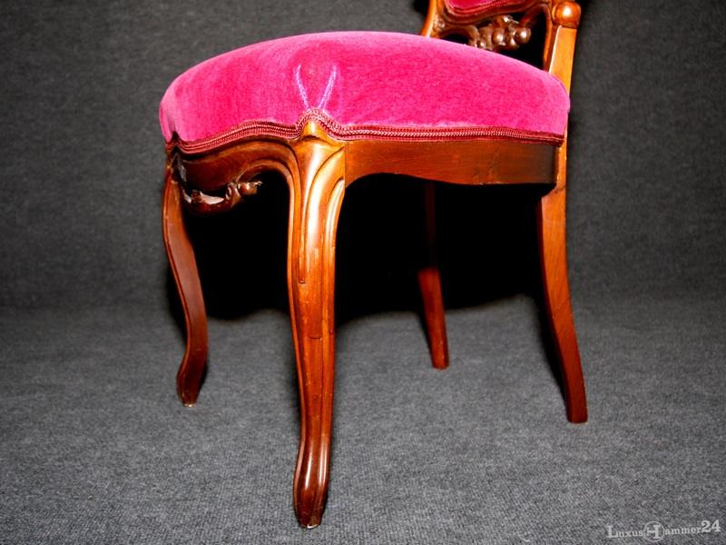 zwei sehr sch ne st hle im barock stil deutschland um. Black Bedroom Furniture Sets. Home Design Ideas